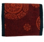 Portemonnaie Mandala (Farbe - rot)