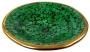 dunkelgrüne Mosaikschale rund (Größe - klein (Durchmesser 29 cm))