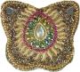 Schmuckdöschen, Schmuckschachtel Schmetterling in 5 Farben (Farbe - gold)