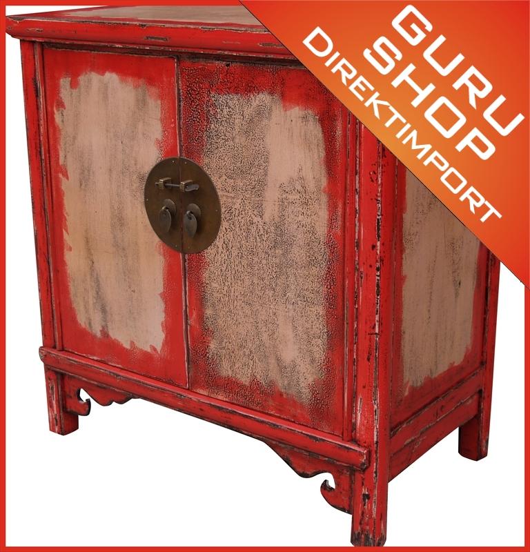 bemalte kommode im chinesischen kolonialstil bf 20095. Black Bedroom Furniture Sets. Home Design Ideas