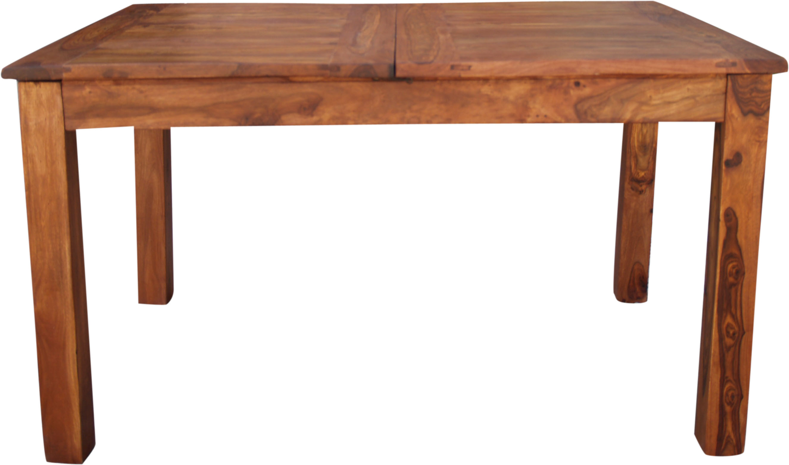 ausziehbarer tisch. Black Bedroom Furniture Sets. Home Design Ideas