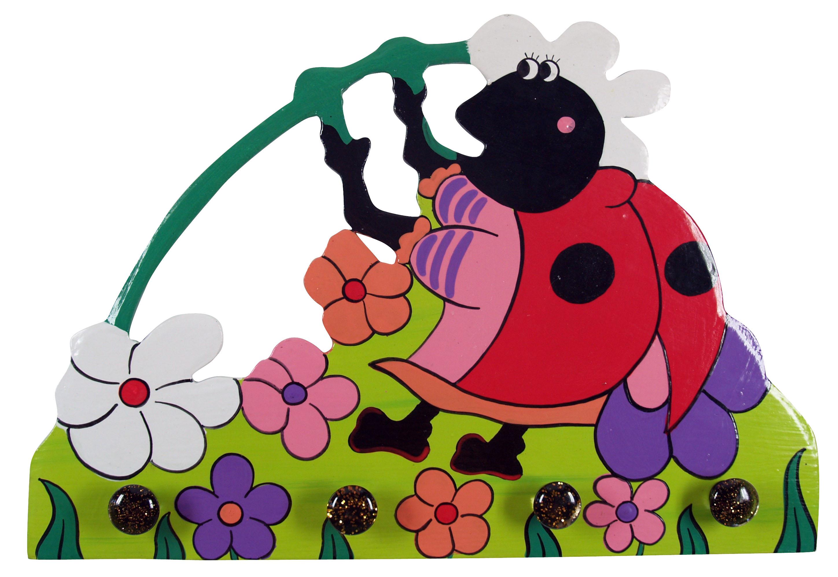 bunte kindergarderobe wandhaken `käfer` /, Hause ideen