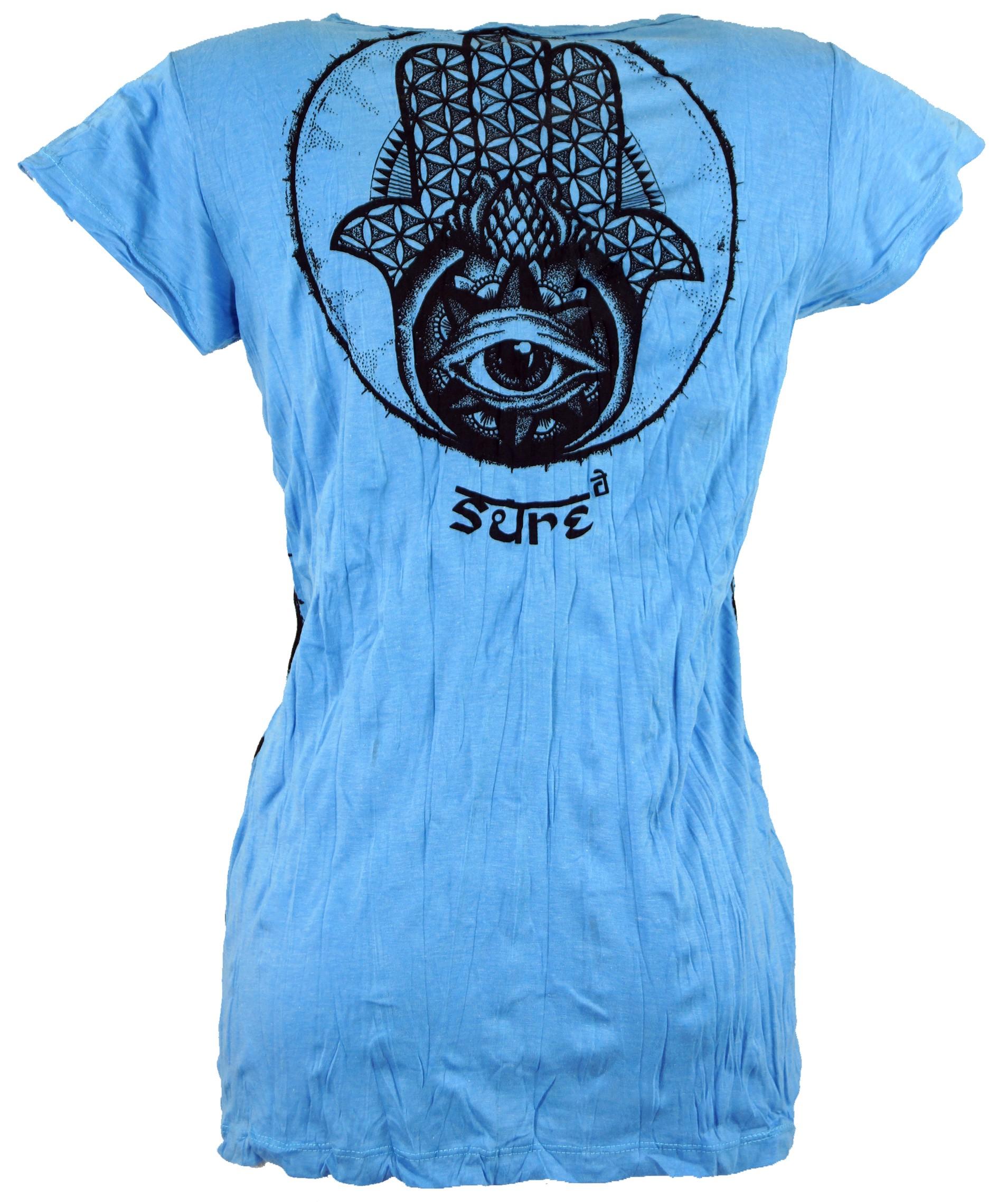 Sure T-Shirt Fatimas Hand - hellblau