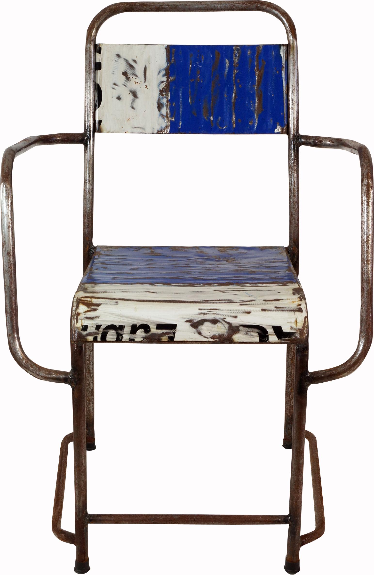 metallstuhl industrial look. Black Bedroom Furniture Sets. Home Design Ideas