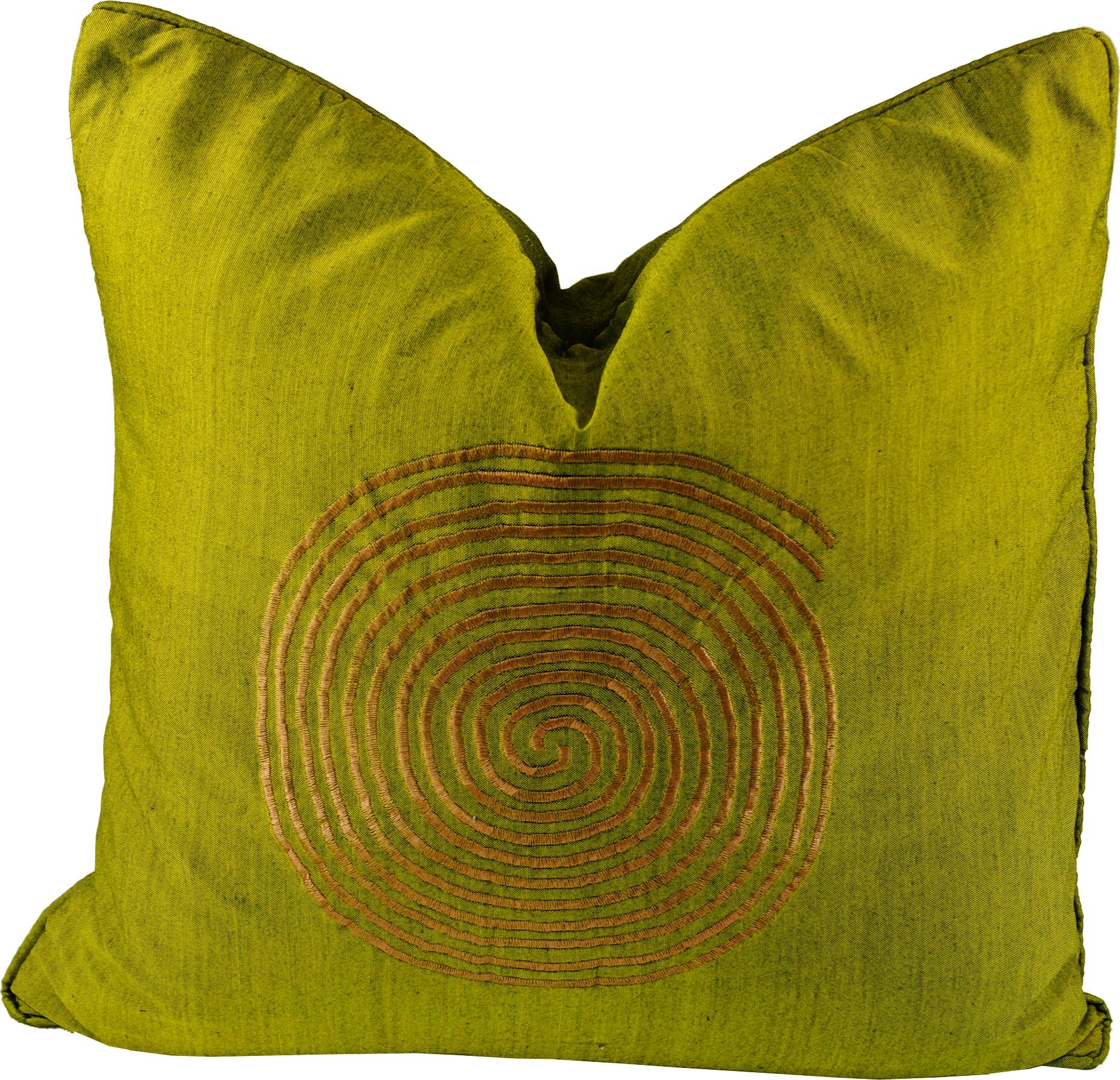 retro kissenh lle 2 gr n. Black Bedroom Furniture Sets. Home Design Ideas