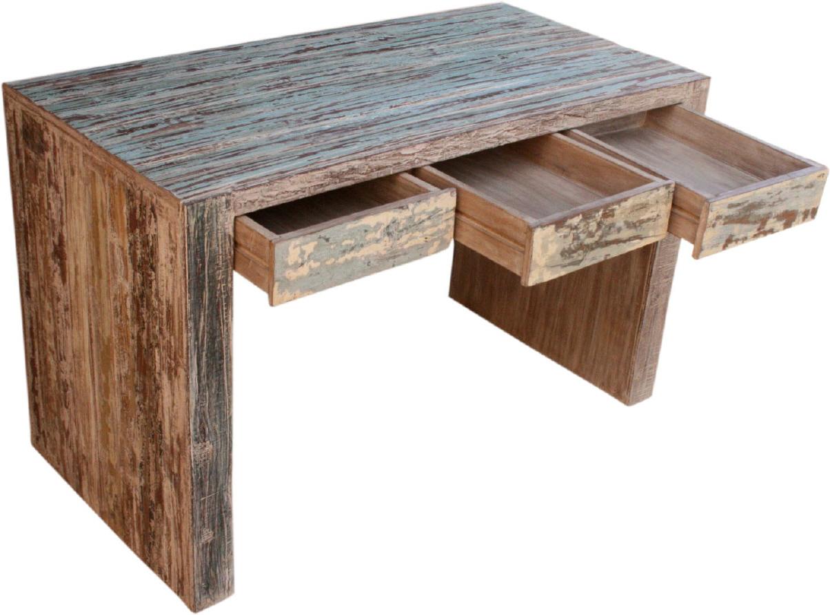 schreibtisch old teak jh8 654. Black Bedroom Furniture Sets. Home Design Ideas