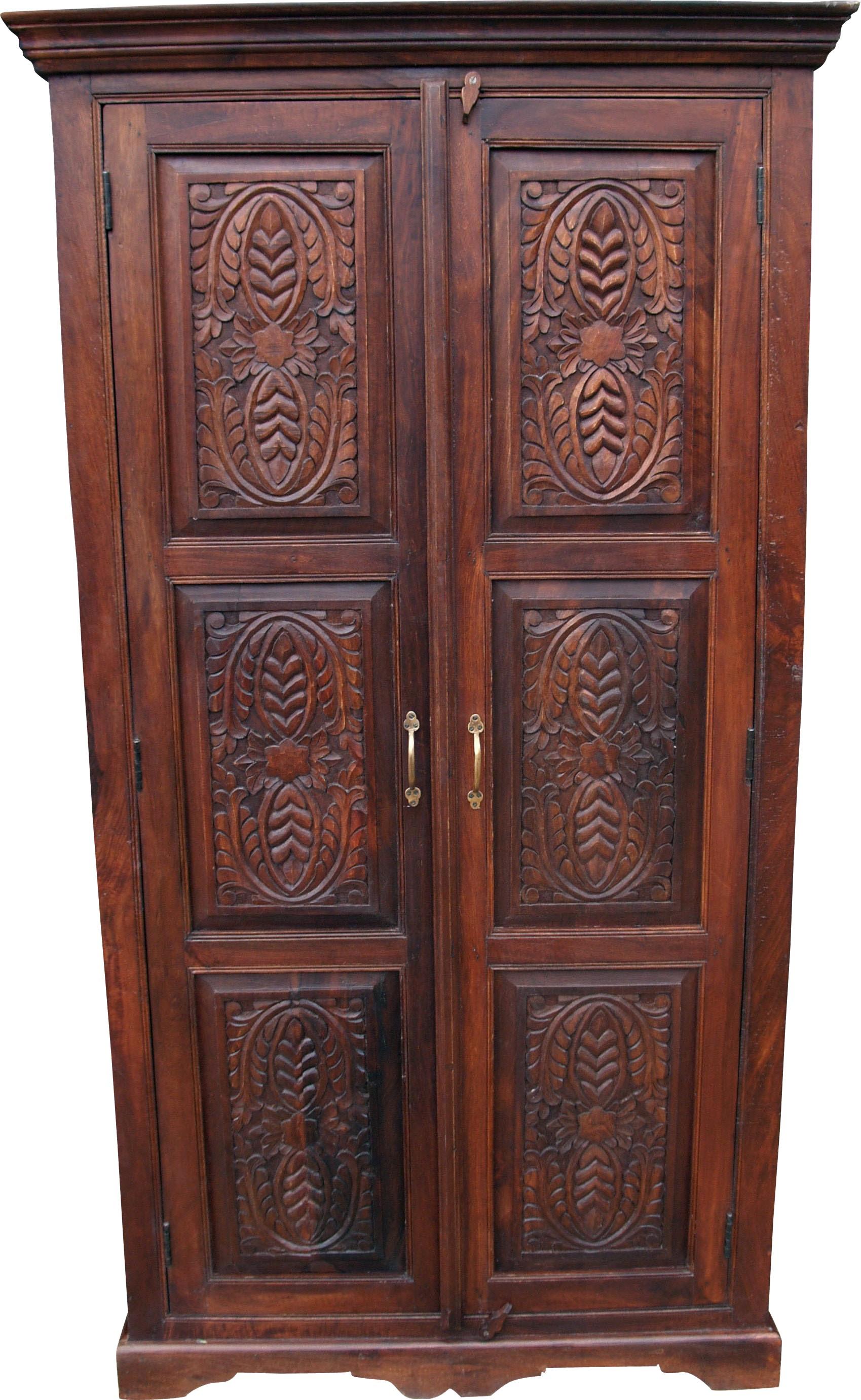 kleiderschrank im kolonialstil kleiderstange 1. Black Bedroom Furniture Sets. Home Design Ideas
