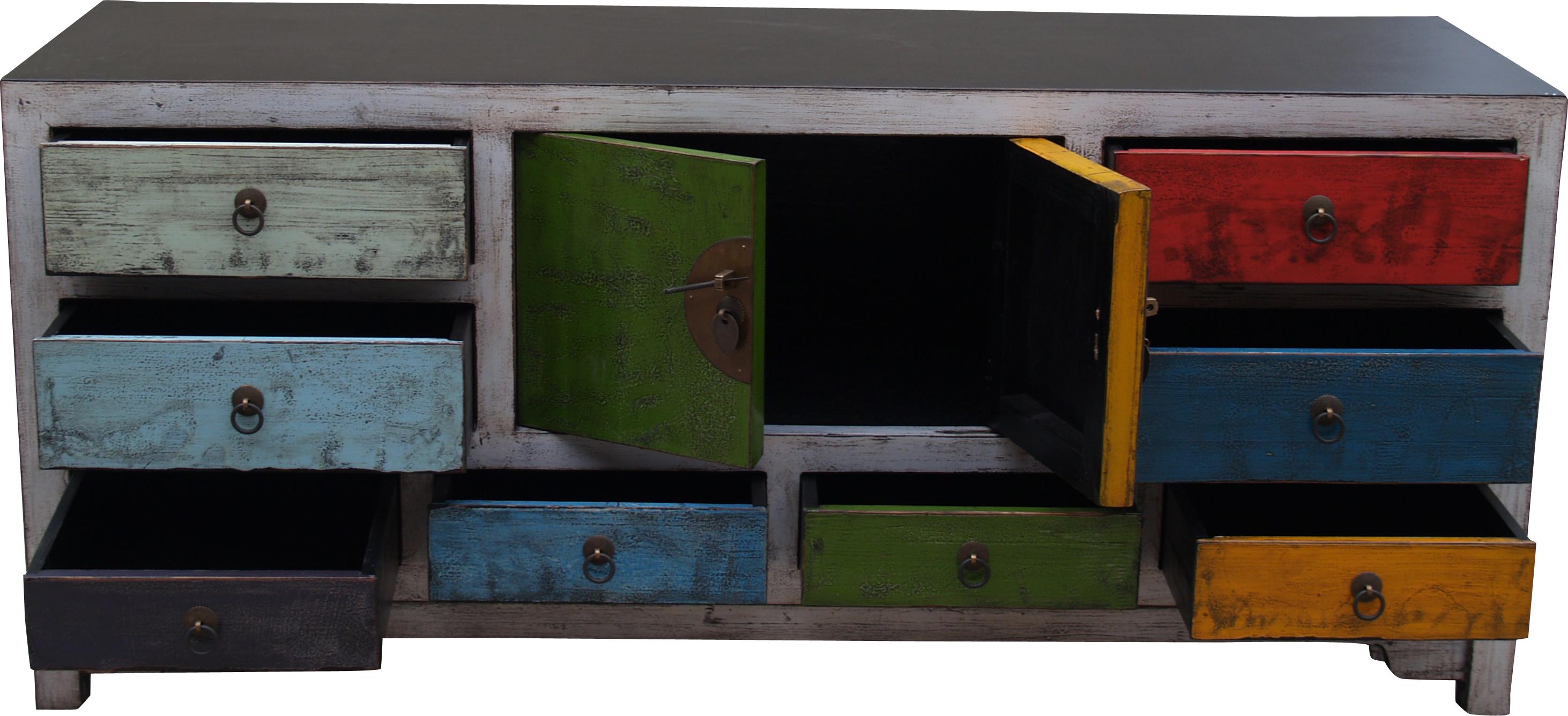 kommode tv schrank im chinesischen kolonialstil h057. Black Bedroom Furniture Sets. Home Design Ideas
