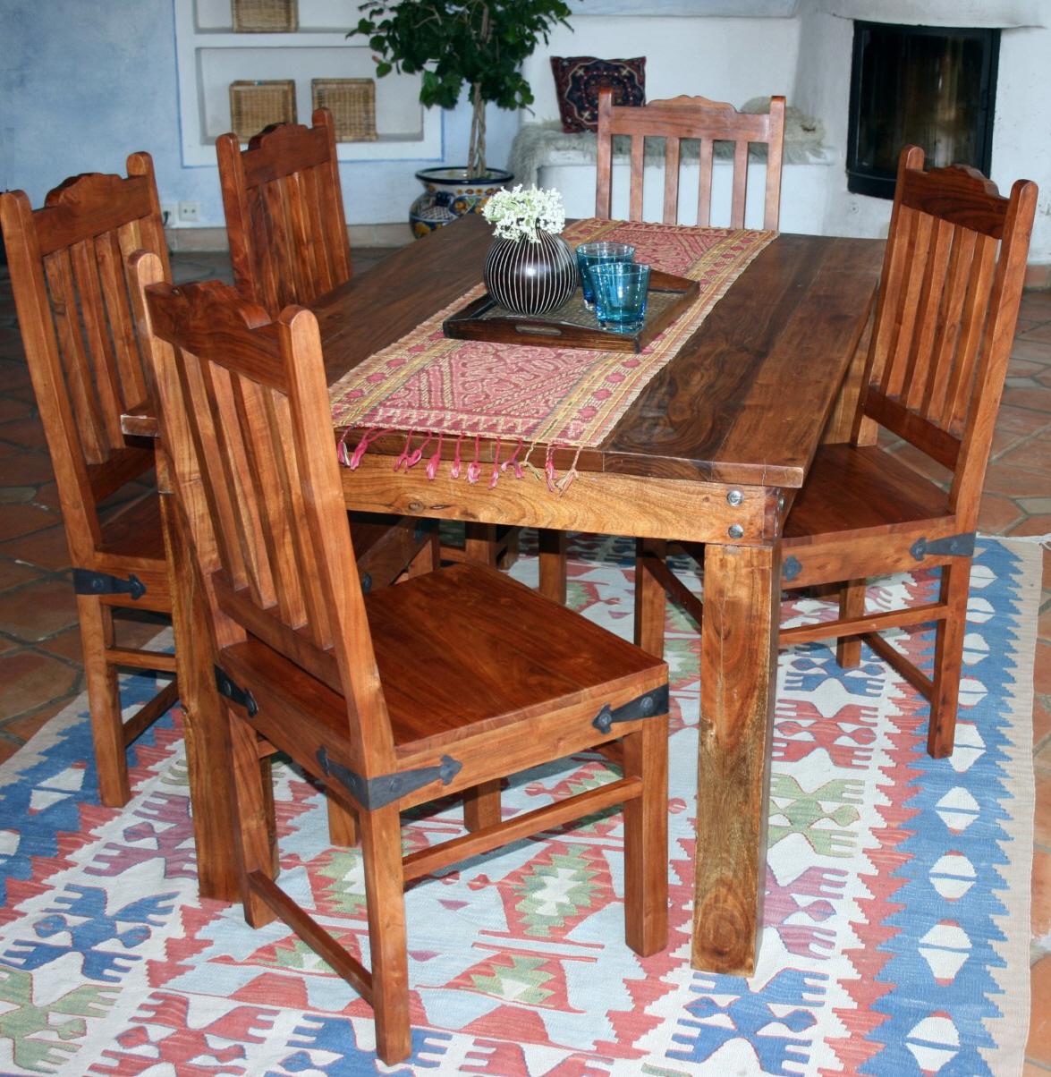 kolonialstil esstisch r509 hell ohne beschl ge. Black Bedroom Furniture Sets. Home Design Ideas