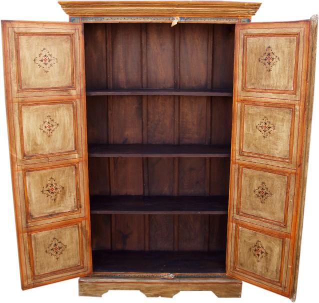 bemalter schrank kleiderschrank jh8 320 165x100x36 cm. Black Bedroom Furniture Sets. Home Design Ideas