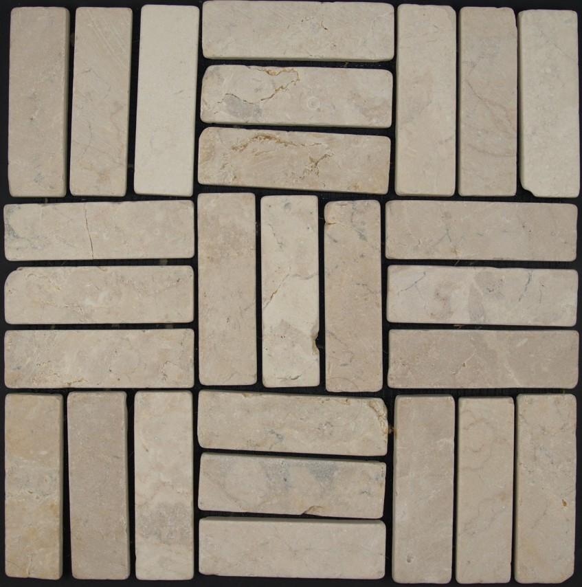 Stäbchen Mosaik Fliesen Aus Marmor P - Stäbchen mosaik fliesen