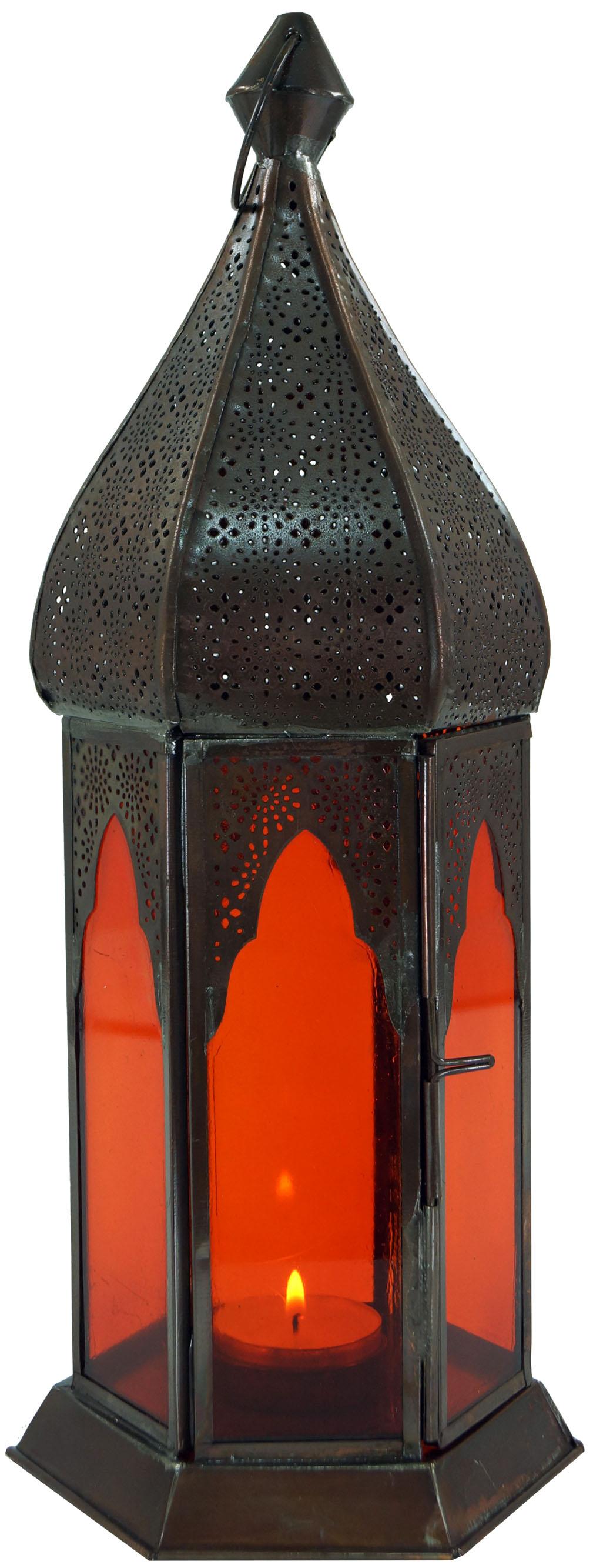 orientalische metall glas laterne in marrokanischem design. Black Bedroom Furniture Sets. Home Design Ideas