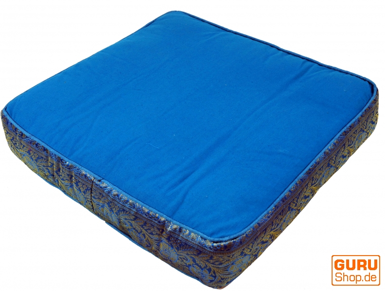orientalisches eckiges patchwork kissen dekokissen 50 cm sitzkissen boden. Black Bedroom Furniture Sets. Home Design Ideas