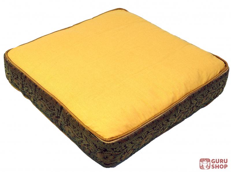 orientalisches eckiges patchwork kissen dekokissen 40 cm sitzkissen boden ebay. Black Bedroom Furniture Sets. Home Design Ideas