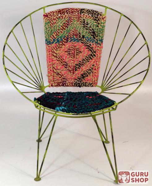 vintage metallkorb sessel acapulco chair 80 72 60 cm ebay. Black Bedroom Furniture Sets. Home Design Ideas