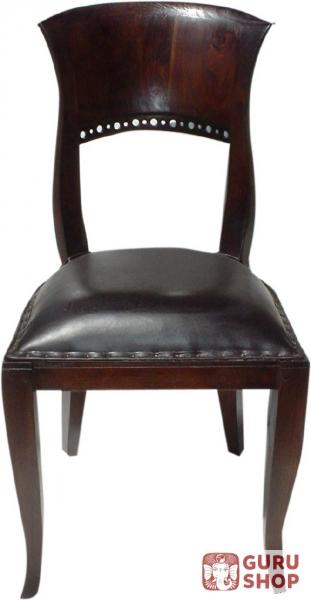 stuhl im kolonialstil 2 90 40 40 cm ebay. Black Bedroom Furniture Sets. Home Design Ideas
