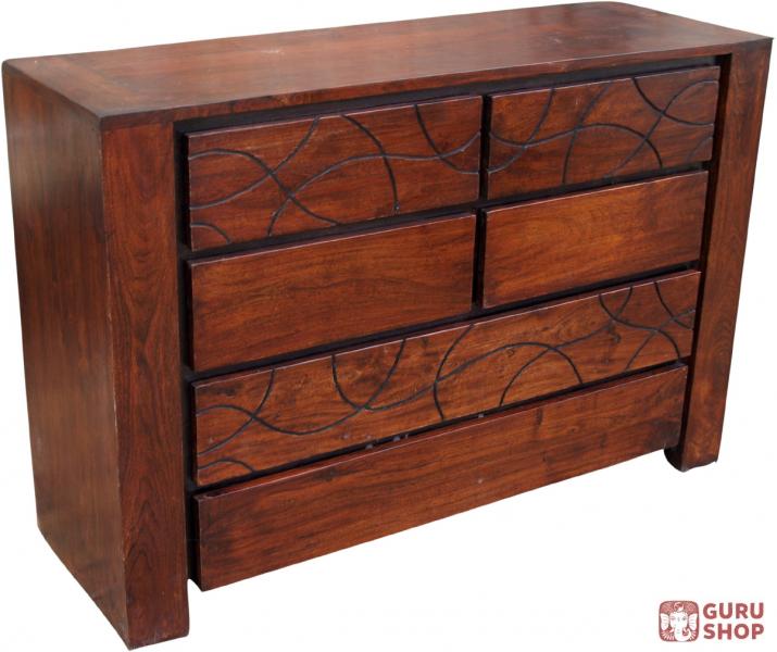 kommode sideboard sideboard tahiti r 1267 80 120 40 cm ebay. Black Bedroom Furniture Sets. Home Design Ideas
