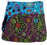 Embroidered wrapping skirt, short goa skirt, cacheur long