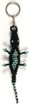 Perlen Schlüsselanhänger Krokodil