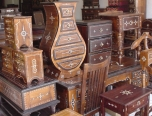 Opium tables &amp; balsawood furniture