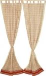 rideaux de coton