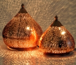 Iron & Glass Lamps