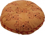 Rounded cushion cover