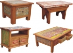Recycling wood furniture Java