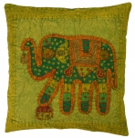 Decoration cushion cover - patchwork elephant aa-1