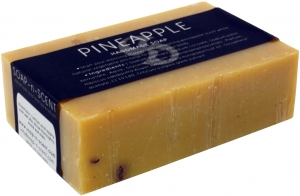 Handgemachte Duftseife, Ananas, 100 g, Fair Trade