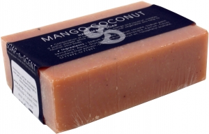 Handgemachte Duftseife, Mango-Kokosnuss, 100 g, Fair Trade