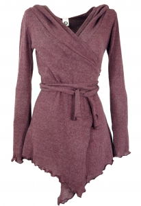 Pixi Wickel-Strickjacke - altrosa