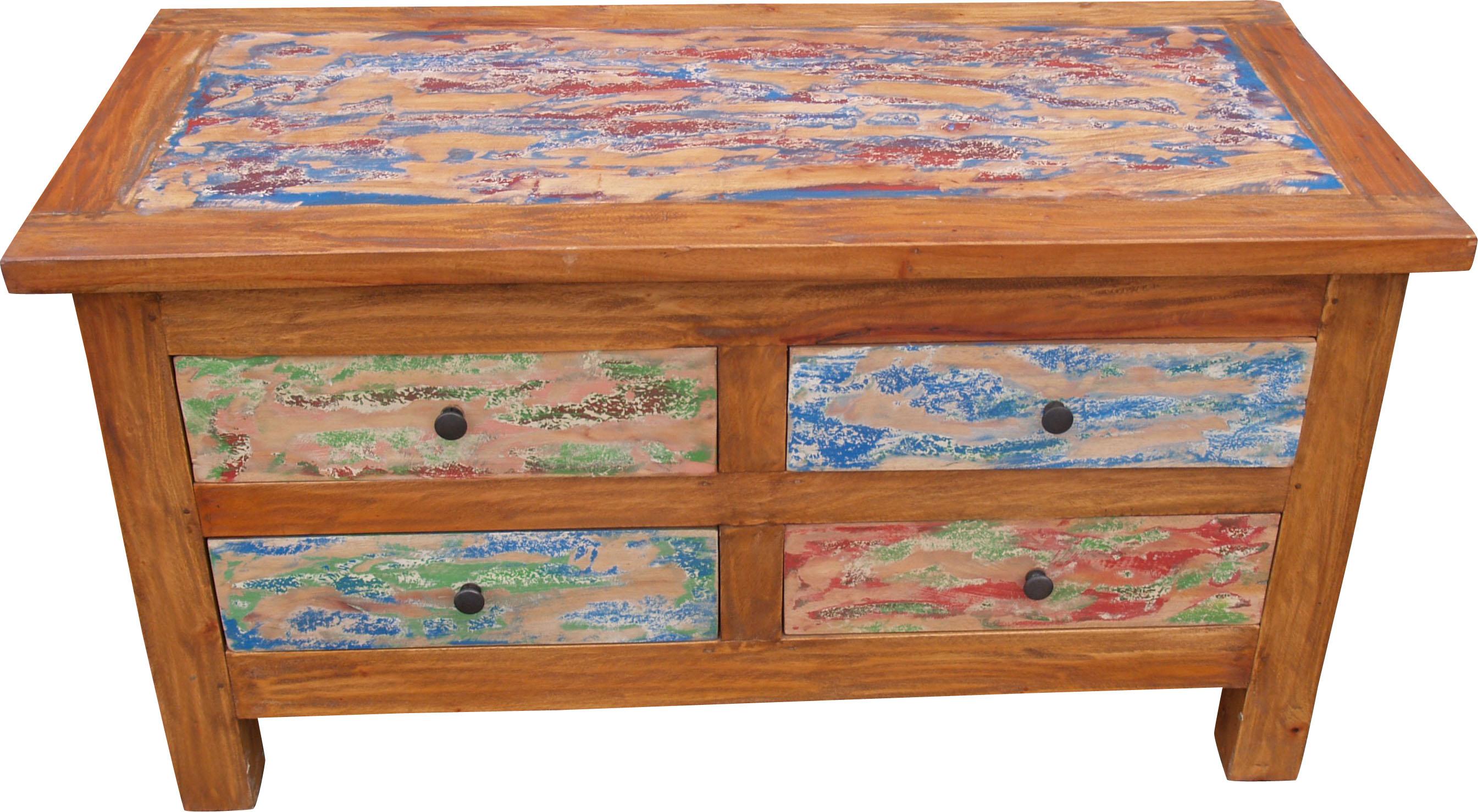 kommode schubladenschrank sideboard aus recyclingholz. Black Bedroom Furniture Sets. Home Design Ideas
