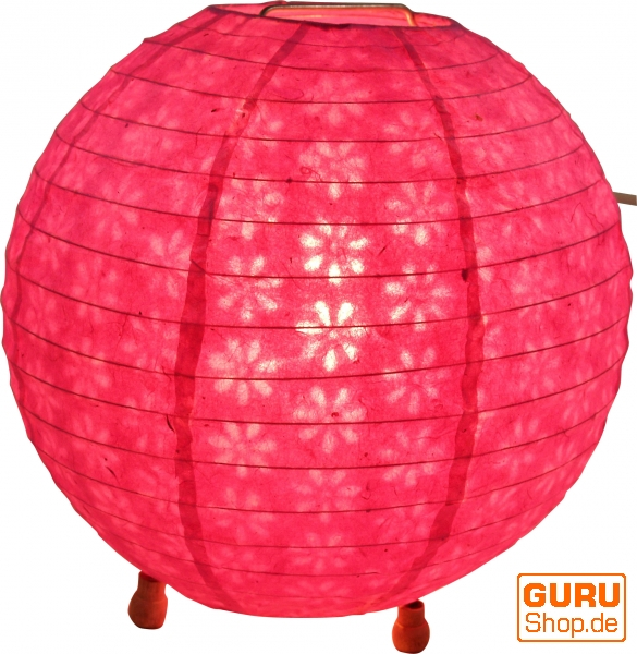 Colored Paper Floor Lamps : Corona round rice paper floor lamp cm ?