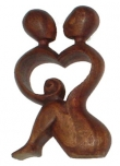 Wooden figure `Love`