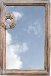 Spiegel aus Holz & Eisen