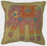 Decoration cushion cover - patchwork elephant aa-6