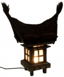 Bali garden lamp 3  incl. outdoor cable